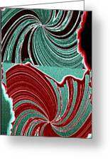 Abstract Fusion 88 Greeting Card
