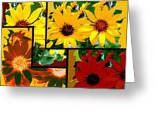 Abstract Fusion 99 Greeting Card