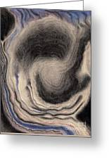 Abstract Geode 3 Greeting Card by Christine Perry