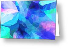 Abstract In Blues 052612 Greeting Card