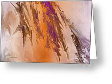 Abstract In July Greeting Card