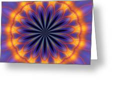 Abstract Kaleidoscope Greeting Card