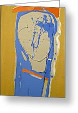 Abstract Kopf  Greeting Card