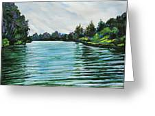 Abstract Landscape 5 Greeting Card