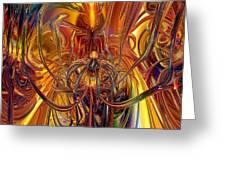 Abstract Medusa Fx   Greeting Card