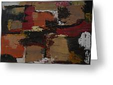 Abstract Number 51 Greeting Card