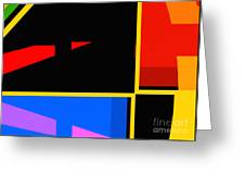 Abstract-pm-1 Greeting Card