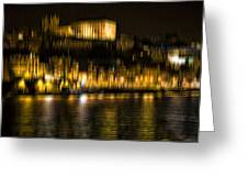 abstract Portuguese city Porto-10 Greeting Card