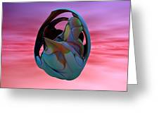 Abstract Sculpture 042412 Greeting Card