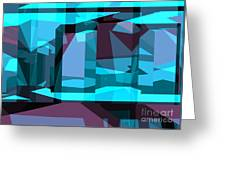 Abstract Sin 29 Greeting Card
