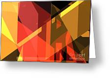 Abstract Sin 31 Greeting Card