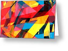 Abstract Sine L 14 Greeting Card