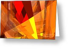 Abstract Sine L 17 Greeting Card