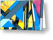 Abstract Sine L 18 Greeting Card