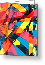 Abstract Sine P 13 Greeting Card