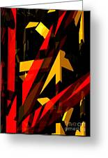 Abstract Sine P 2 Greeting Card