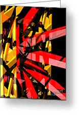 Abstract Sine P 3 Greeting Card