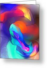 Abstract Still Life Objects De Art Greeting Card
