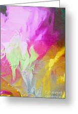 Abstract Summer's Bounty Greeting Card
