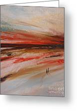 Abstract Sunset II Greeting Card