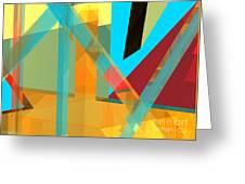 Abstract Tan 8 Greeting Card