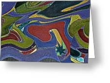 Abstract Xii Greeting Card