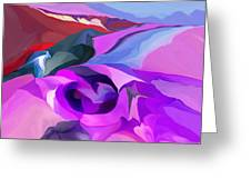 Abstract041712 Greeting Card