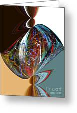 Abstract2 Greeting Card