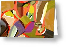 Abstract203 Greeting Card