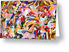 Abstract205 Greeting Card