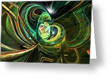 Abstracted Love Fx  Greeting Card