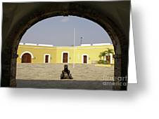 Acapulco Fort Greeting Card