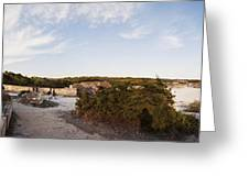 Access To The Beach Of Es Trenc Greeting Card
