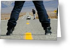Accident Scene Photographer Greeting Card