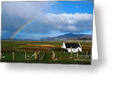 Achill Island In County Mayo  Ireland Greeting Card