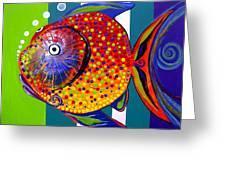 Acidfish 60 Greeting Card