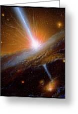 Active Galaxy M87 Greeting Card