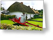 Adare Cottage Greeting Card