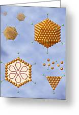 Adenovirus Structure, Artwork Greeting Card