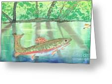 Adirondack Reflections Greeting Card