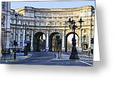 Admiralty Arch In Westminster London Greeting Card