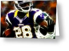Adrian Peterson 02 - Football - Fantasy Greeting Card
