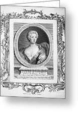 Adrienne Lecouvreur Greeting Card