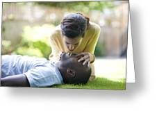 Adult Resuscitation Greeting Card