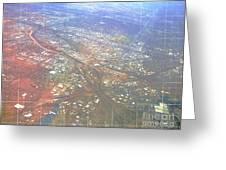 Aerial Graph Greeting Card