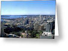 Aerial View - Sydney Harbour Greeting Card
