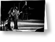 Aerosmith In Spokane 12 Greeting Card
