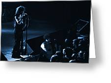 Aerosmith In Spokane 15a Greeting Card