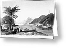 Africa: Cape Of Good Hope Greeting Card