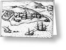 Africa: Portuguese Fort Greeting Card